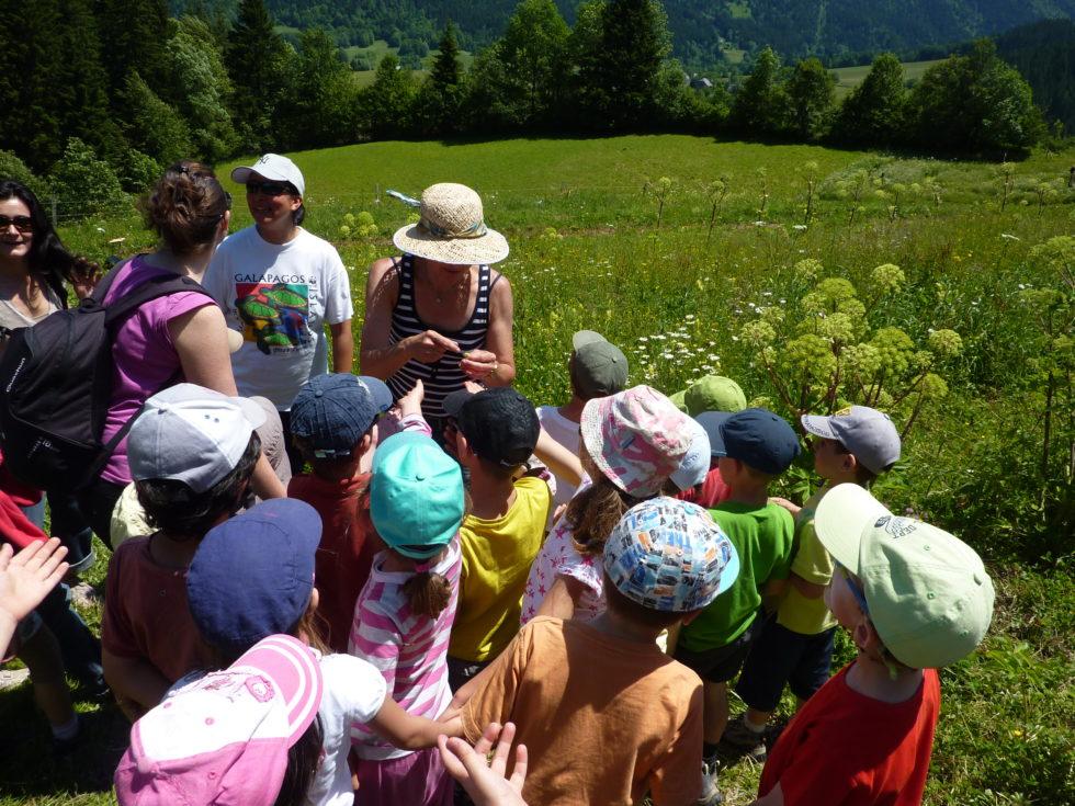 La visite de l'exploitation | Petits Jardiniers